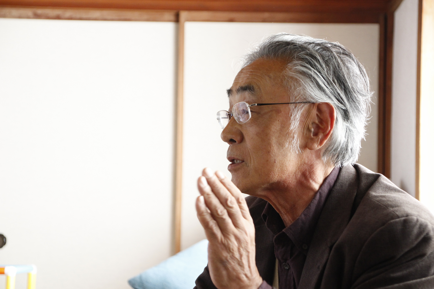 この活動を全国に広げたいと語る土田さん。さまざまな場所で講演も行っている。