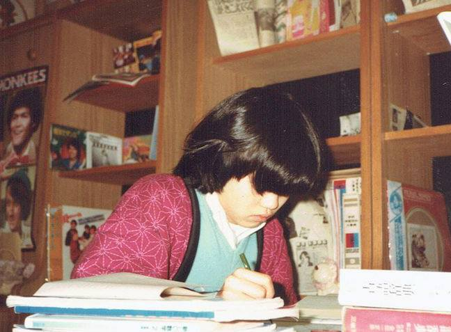 14歳。受験勉強中。