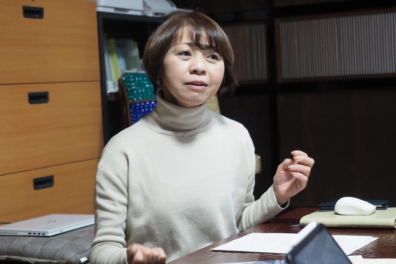 岩崎典子さん。