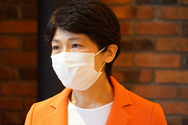 西村智奈美さん。